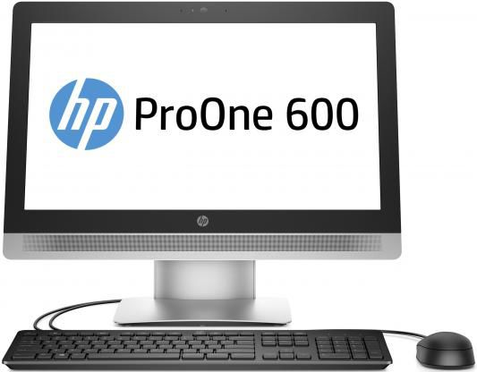 Моноблок HP ProOne 600 G2, Intel Core i3 6100, 4Гб, 500Гб, Intel HD Graphics 530, DVD-RW, Windows 10 Professional, черный и серебристый [t4j58ea]