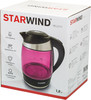 Чайник электрический STARWIND SKG2214, 2200Вт, малиновый вид 12