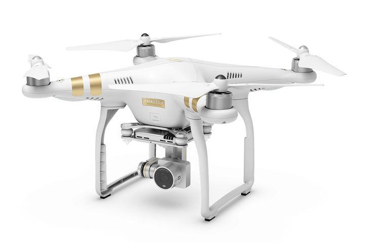 Квадрокоптер DJI Phantom 3 Professional, с камерой, белый [49485]