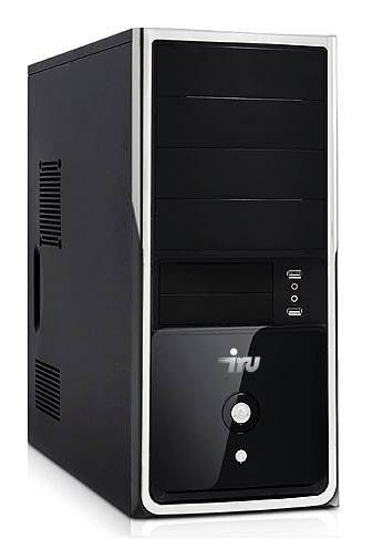 Компьютер  IRU Office 311,  Intel  Pentium  G3250,  DDR3 4Гб, 500Гб,  Intel HD Graphics,  Windows 7 Professional,  черный [341748]