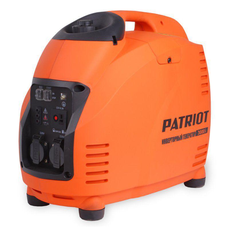 Бензиновый генератор PATRIOT 3000i,  220 В,  3.5кВт [474101045]