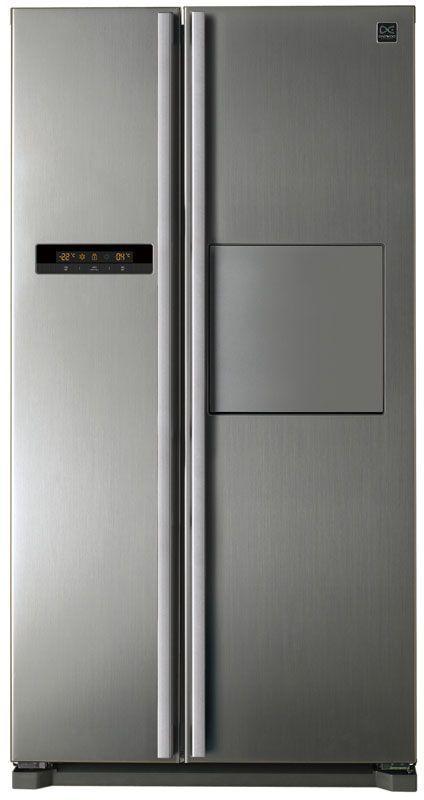 Холодильник DAEWOO FRN-X22H4CSI,  двухкамерный,  серебристый