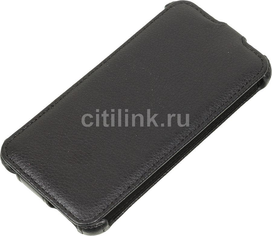 Чехол (флип-кейс) ARMOR-X flip, для HTC Desire 326G Dual Sim, черный
