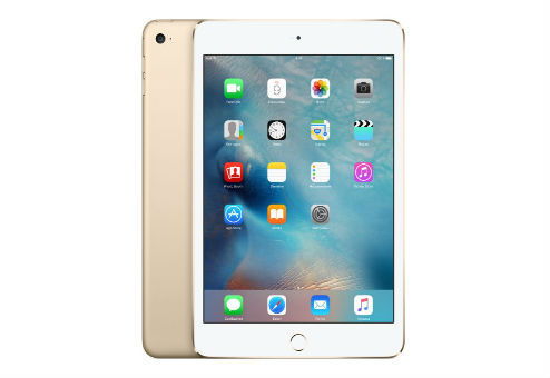 Планшет APPLE iPad mini 4 128Gb Wi-Fi MK9Q2RU/A, 2GB, 128GB, iOS золотистый
