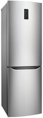 Холодильник LG GA-B419SMQL,  двухкамерный,  нержавеющая сталь