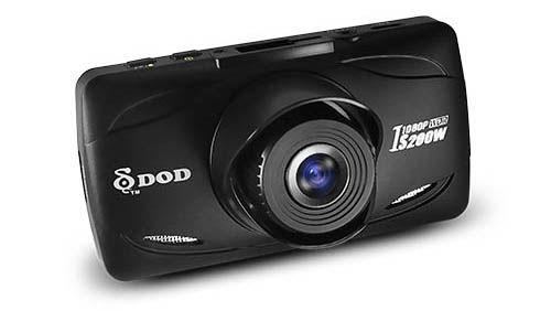 Видеорегистратор DOD IS200W черный