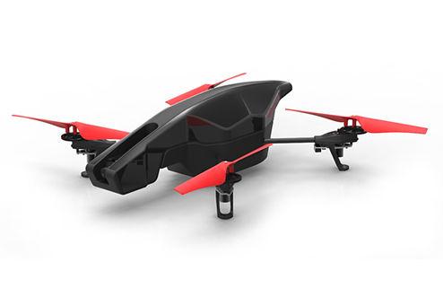 Квадрокоптер PARROT AR.Drone 2.0 Power Edition Area 2, с камерой, черный [pf721008]