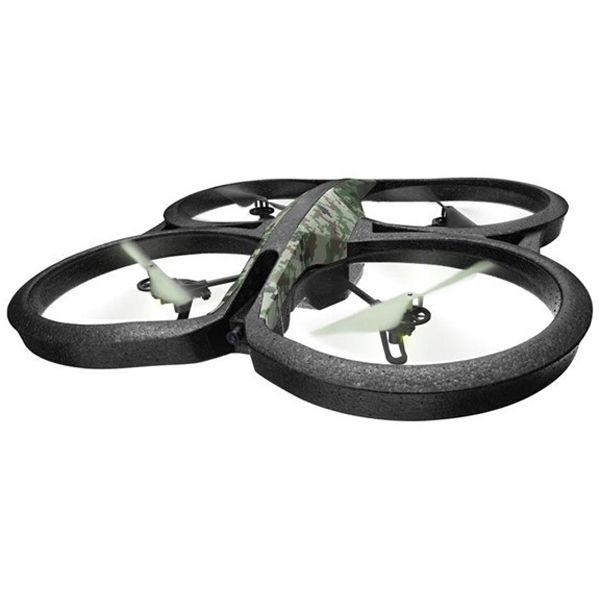 Квадрокоптер PARROT AR.Drone 2.0 Elite Edition, с камерой, камуфляж лесной [pf721822]