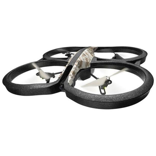 Квадрокоптер PARROT AR.Drone 2.0 Elite Edition с камерой,  камуфляж пустынный [pf721820]