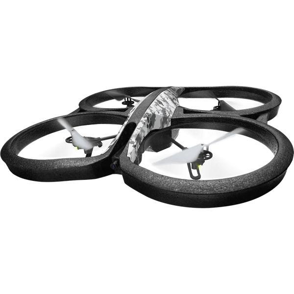 Квадрокоптер PARROT AR.Drone 2.0 Elite Edition, с камерой, камуфляж снежный [pf721821]