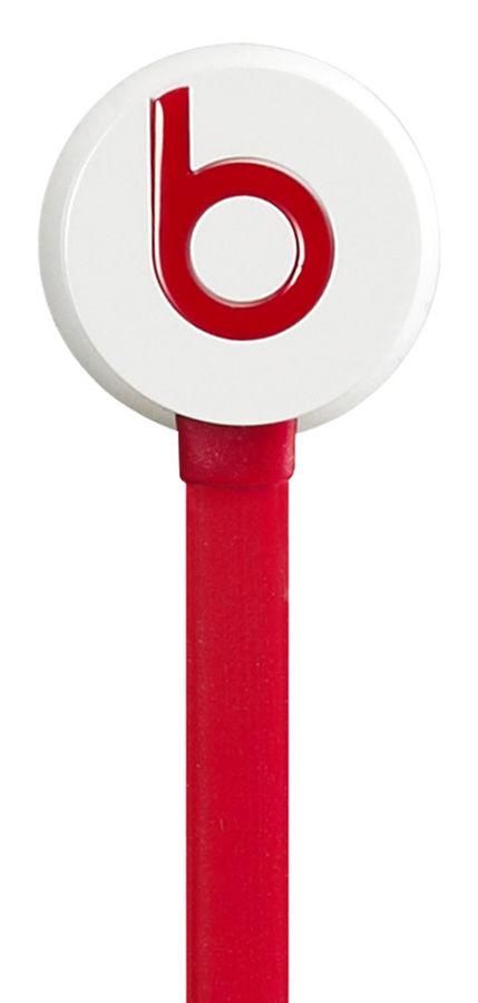 Наушники BEATS Urbeats CW 1, MHD12ZE/A, вкладыши,  белый/красный, проводные
