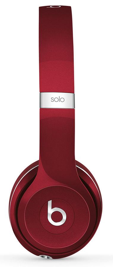 Гарнитура BEATS Solo 2 Luxe Edition, ML9G2ZE/A, накладные,  красный, проводные