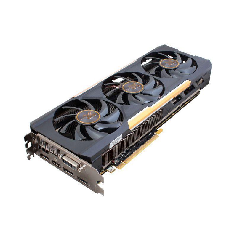 Видеокарта Sapphire PCI-E 11241-02-20G W/BP (UEFI) AMD R9 390X 8192Mb 512b GDDR5 1 (отремонтированный)