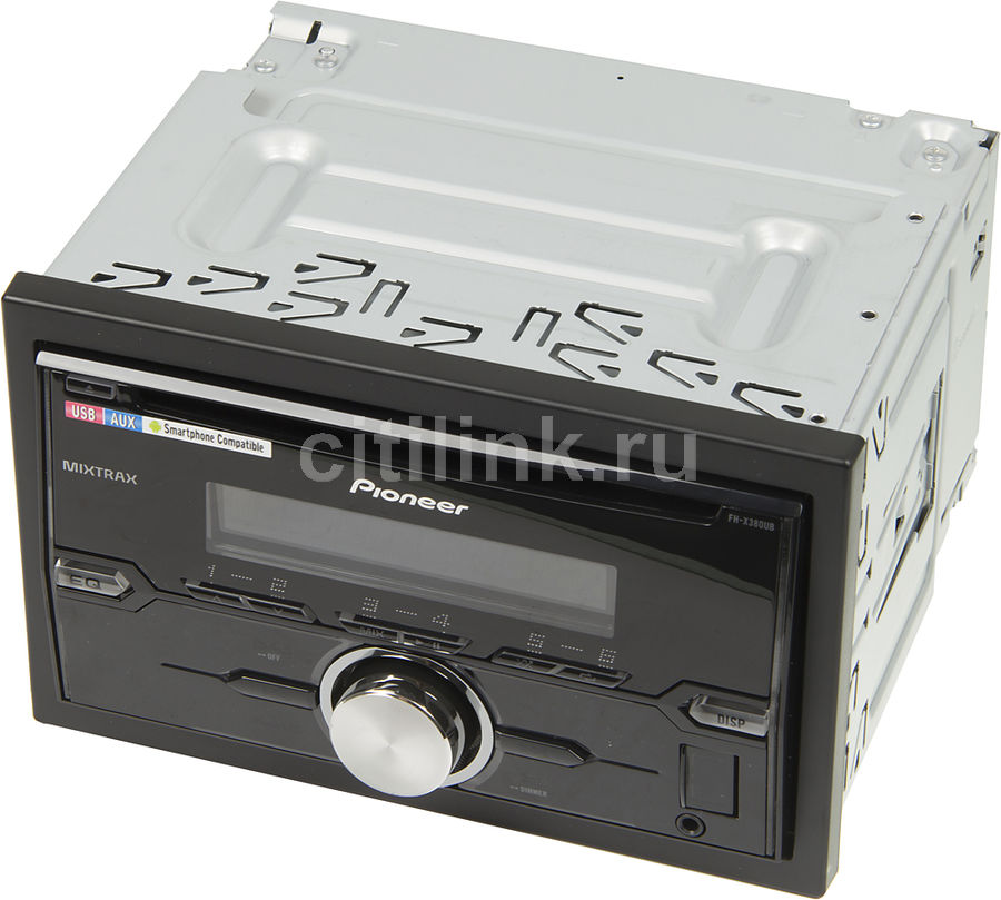 Автомагнитола PIONEER FH-X380UB, USB автомагнитола cd mp3 pioneer fh x380ub