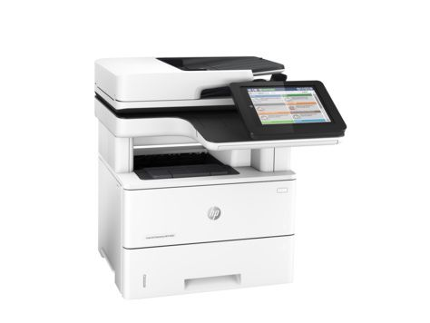 МФУ HP LaserJet Enterprise M527dn,  A4,  лазерный,  белый [f2a76a]
