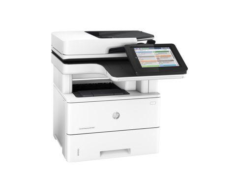 МФУ HP LaserJet Enterprise M527f,  A4,  лазерный,  белый [f2a77a]