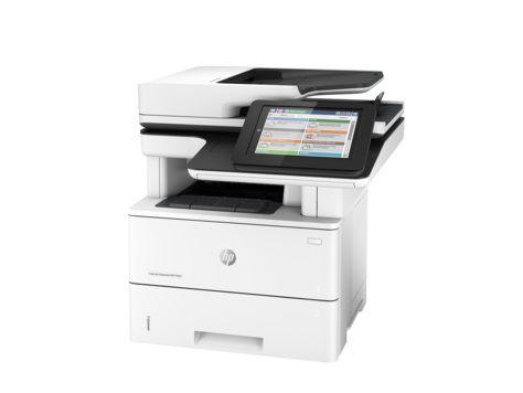 МФУ HP LaserJet Enterprise M527c,  A4,  лазерный,  белый [f2a81a]