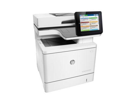 МФУ HP Color LaserJet Enterprise M577dn,  A4,  цветной,  лазерный,  белый [b5l46a]