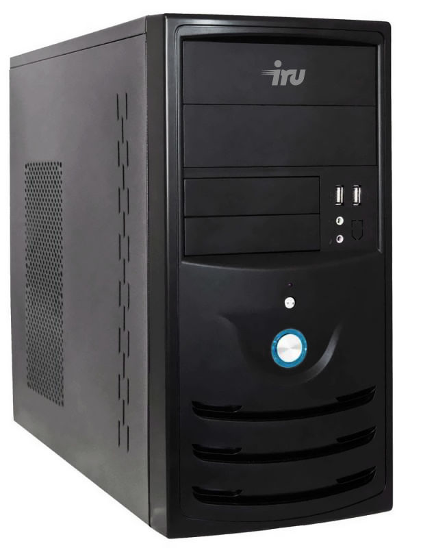 Компьютер  IRU Corp 310,  Intel  Celeron  G1840,  DDR3 4Гб, 60Гб(SSD),  Intel HD Graphics,  Windows 8.1,  черный [343884]