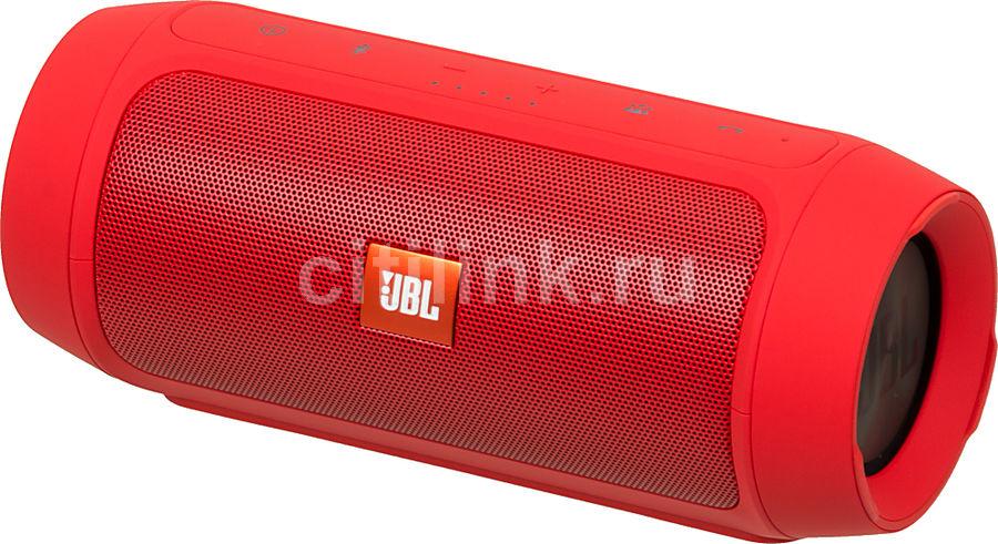 Портативная колонка JBL Charge 2 Plus,  15Вт, красный  [charge2plusredeu]