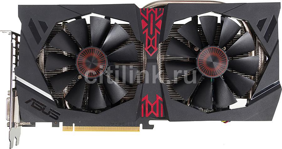 Видеокарта ASUS Radeon R9 380X,  STRIX-R9380X-4G-GAMING,  4Гб, GDDR5, Ret