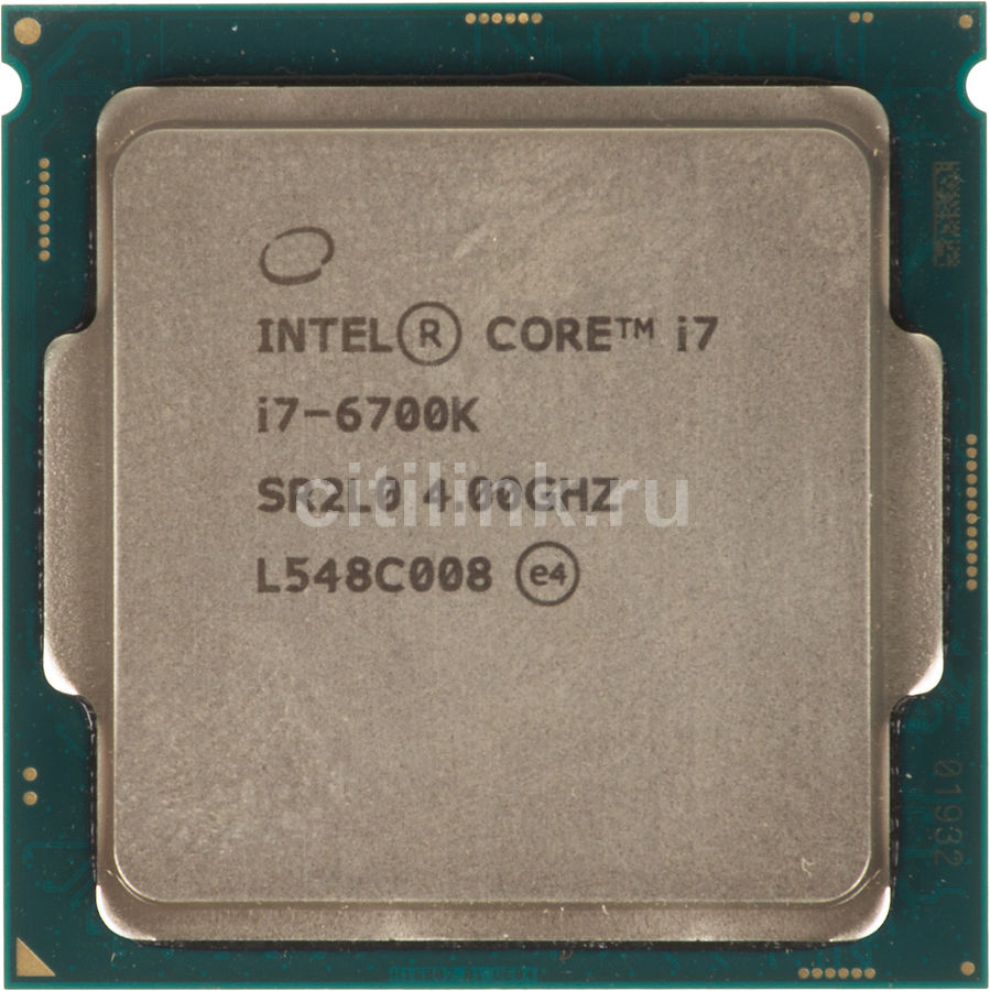 Процессор INTEL Core i7 6700K, LGA 1151 OEM
