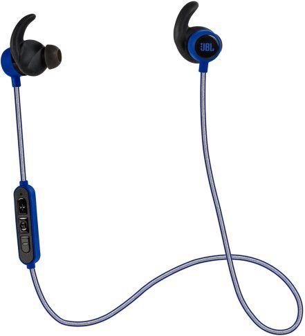 Гарнитура JBL Reflect mini BT, вкладыши,  синий, беспроводные bluetooth