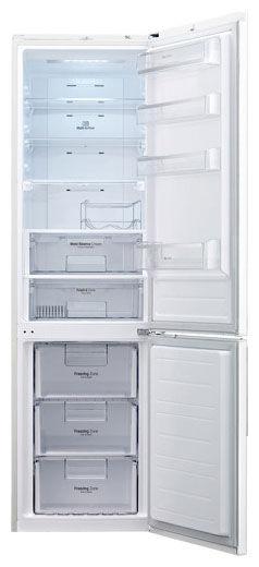 Холодильник LG GW-B489SQQL,  двухкамерный,  белый глянец