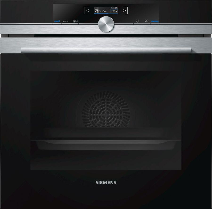 Духовой шкаф SIEMENS HB655GTS1,  черный
