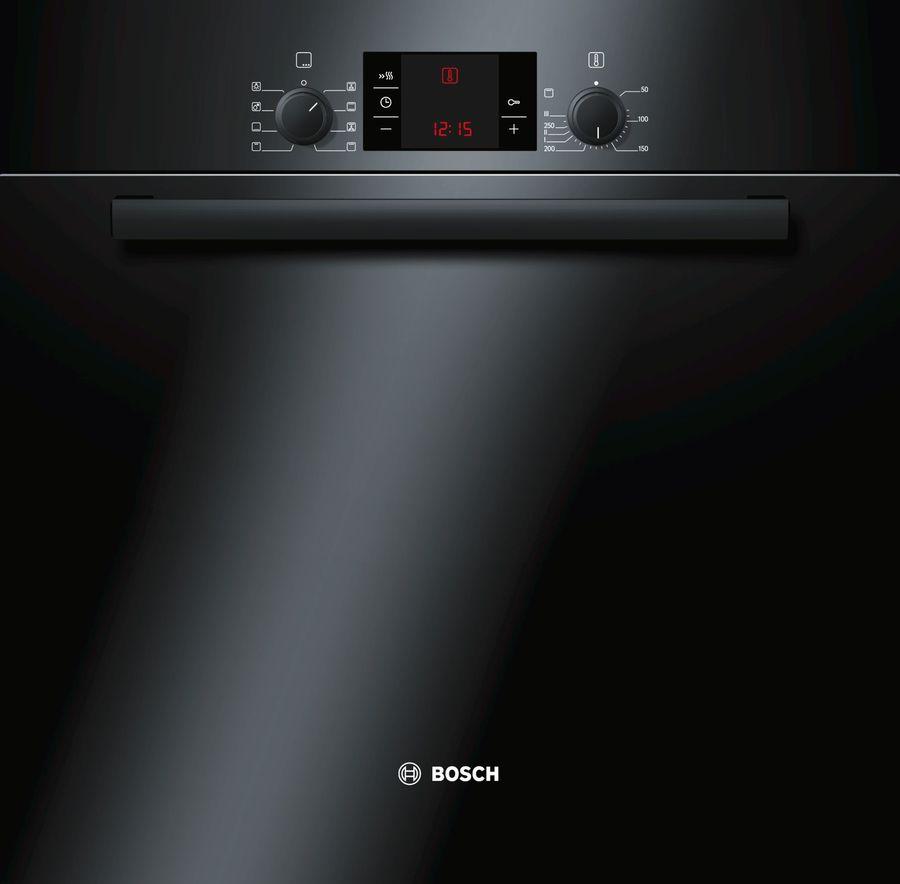 Духовой шкаф BOSCH HBA23B262E,  черный