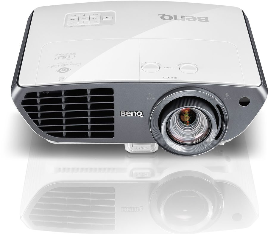Проектор BENQ W3000 белый и серебристый [9h.jef77.27e]