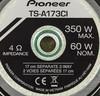 Колонки автомобильные PIONEER TS-A173CI,  компонентные,  350Вт вид 10