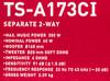 Колонки автомобильные PIONEER TS-A173CI,  компонентные,  350Вт вид 12