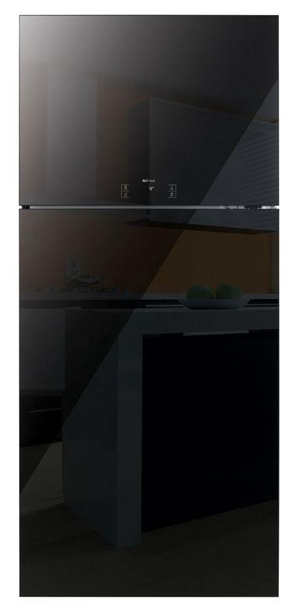 Холодильник DAEWOO FN-T650NPB,  двухкамерный,  черный