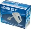 Миксер SCARLETT SC-HM40S03, ручной,  белый и синий [sc - hm40s03] вид 8