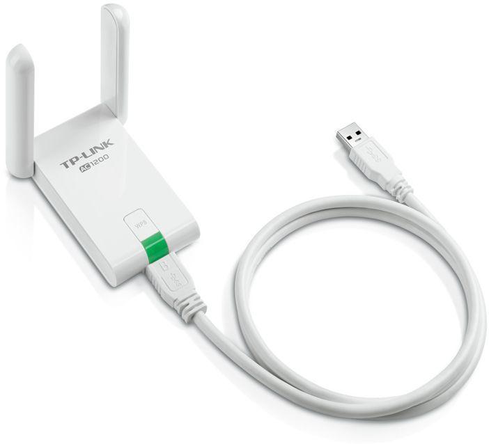 Сетевой адаптер WiFi TP-Link Archer T4UH USB (ант.внеш.несъем.) 1ант. (отремонтированный)