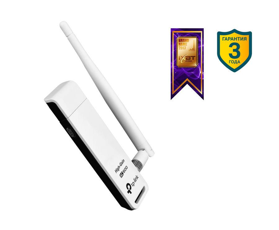 Сетевой адаптер USB 2.0 TP-LINK ARCHER T2UH USB 2.0