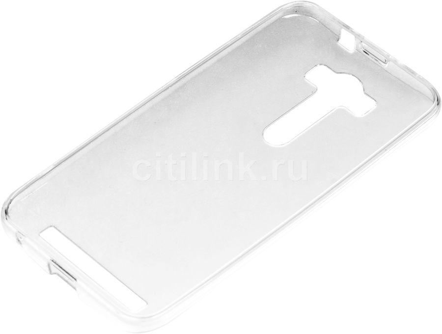 Чехол (клип-кейс) REDLINE iBox Crystal, для Asus ZenFone 2 Lazer ZE500KL, прозрачный [ут000007786]