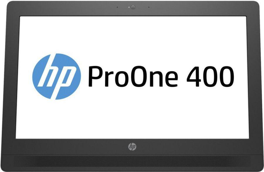 Моноблок HP ProOne 400 G2, Intel Pentium G4400T, 4Гб, 500Гб, Intel HD Graphics 510, DVD-RW, Windows 10, черный [t4r55ea]