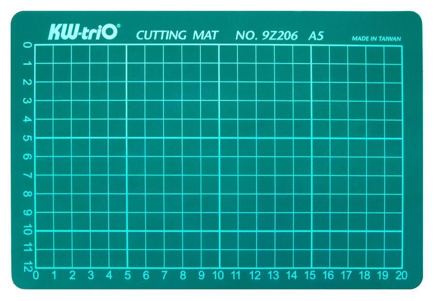 Подкладка для резки Kw-Trio 9Z206 A5 225x150мм зеленый