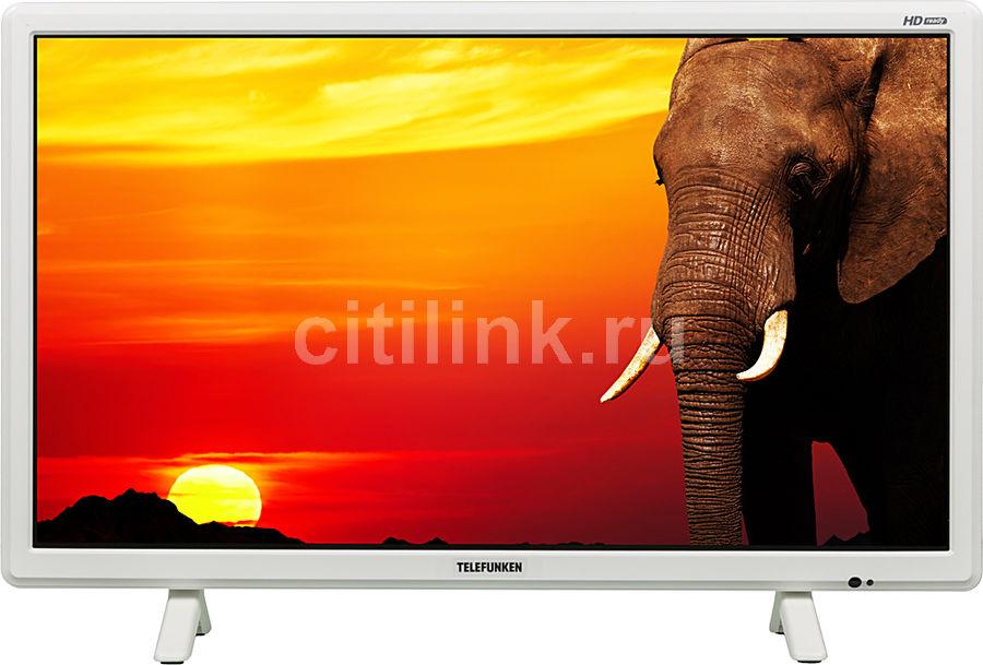 """LED телевизор TELEFUNKEN TF-LED24S21T2  """"R"""", 23.6"""", HD READY (720p),  белый"""