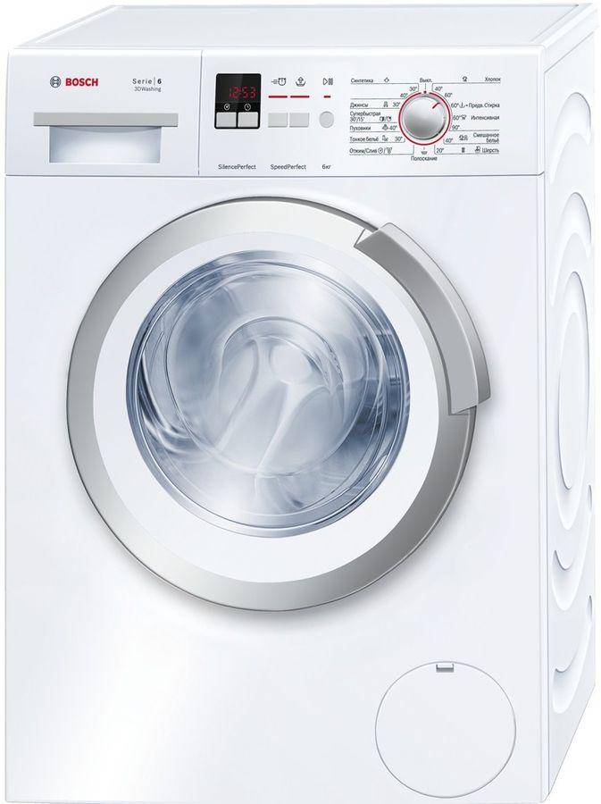 Стиральная машина BOSCH WLK20166OE, фронтальная загрузка,  белый
