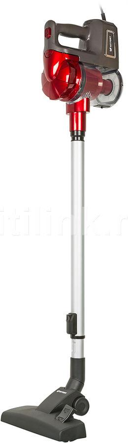 Ручной пылесос (handstick) KITFORT КТ-513-1, 500Вт, красный/серый