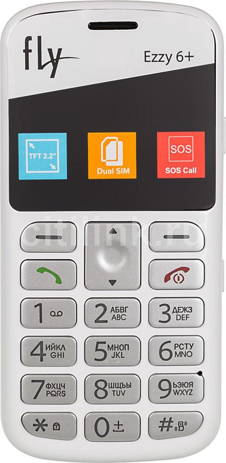 Мобильный телефон FLY Ezzy 6+ белый