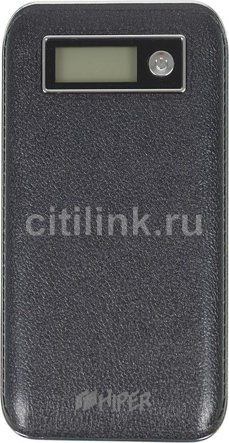 Внешний аккумулятор HIPER PowerBank XPX6500,  6500мAч,  черный [xpx6500 black]