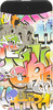 Внешний аккумулятор HIPER PowerBank EP6600 Graffiti,  6600мAч,  рисунок вид 2