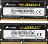 Модуль памяти CORSAIR CMSO16GX4M2A2133C15 DDR4 -  2x 8Гб 2133, SO-DIMM,  Ret вид 2