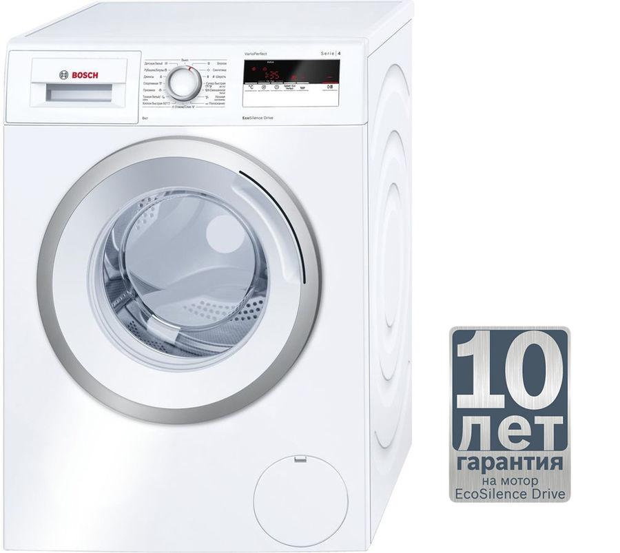 Стиральная машина BOSCH Serie 4 WAN20160OE, фронтальная загрузка,  белый