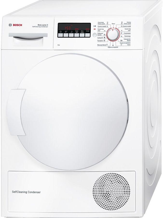 Сушильная машина BOSCH WTW44261OE белый