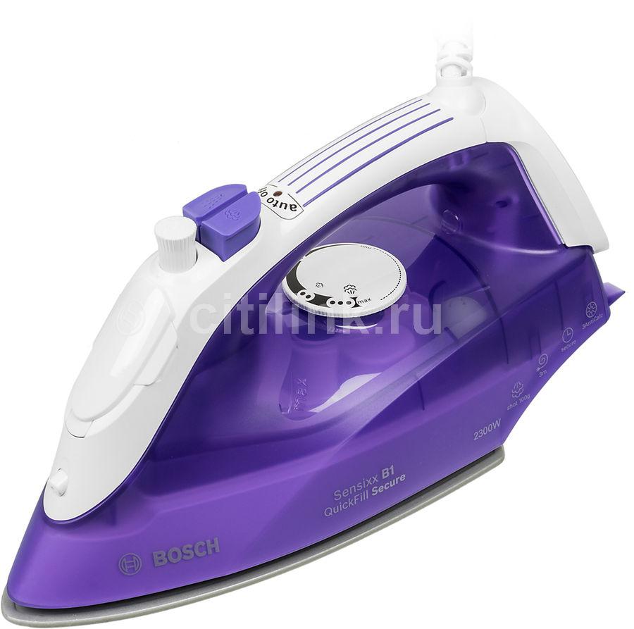 Утюг Bosch TDA2680 2300Вт фиолетовый/белый(Б/У)
